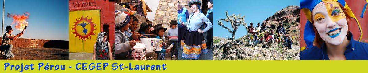 Projet Pérou - CEGEP St-Laurent