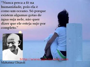 Reflexão de Gandhi