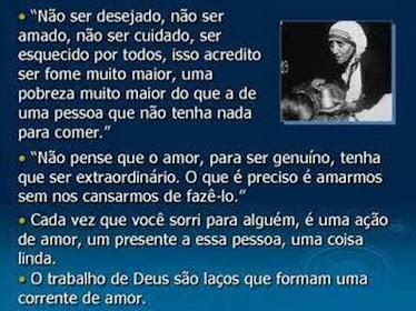 O Coração de Madre Teresa