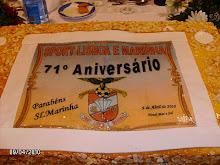 Parabéns SL Marinha