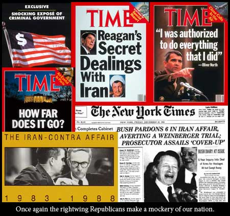 a history of the iran contra affair The iran-contra affair was a political scandal revealed in 1986 as a result  the  iranian government confirmed the ash-shiraa story, and ten.