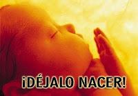 LEY DEL ABORTO NO CON MI VOTO