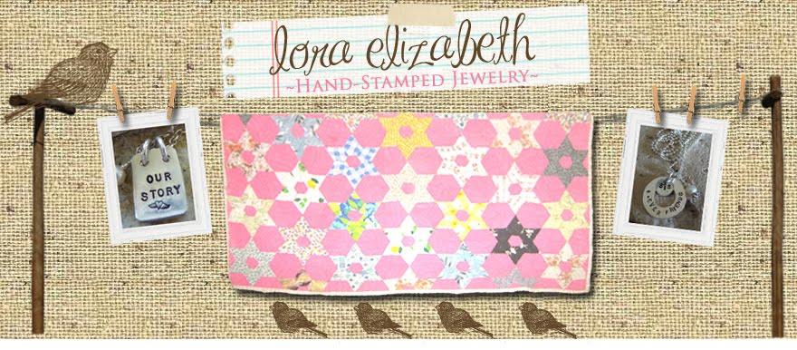 Lora Elizabeth Stamped Jewelry