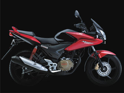 Honda CBF Stunner FI 125cc in Red color