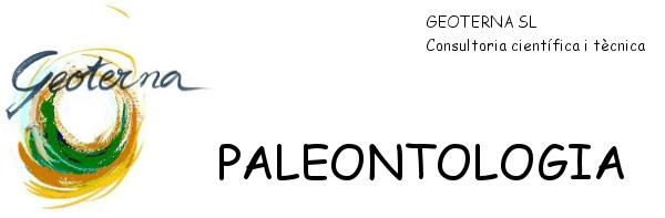 GEOTERNA, SL Paleontologia