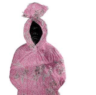 pinkyconggg, poconggg in pink batik