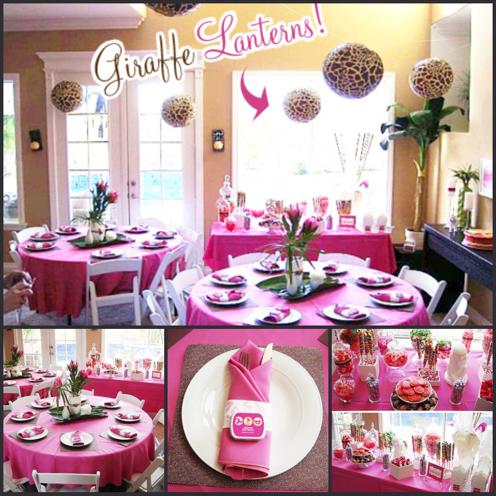 Wordless Wednesday: Spring Baby Showers Bring Pink May Flowers