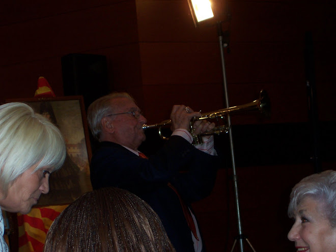 El trompetista Rudi Ventura , rindió homenaje a Tarazona y Raquel Meller en la presentación en Barc