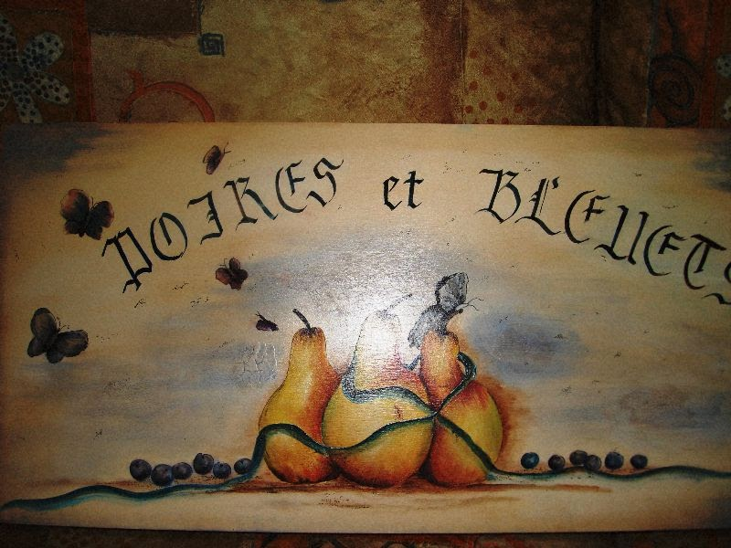 Les bidouilles blog de peinture d corative technique - Lettre decorative a peindre ...