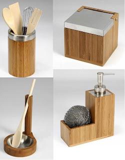 Accesorios de cocina de bamb tatamba decoraci n y for Accesorios cocina online