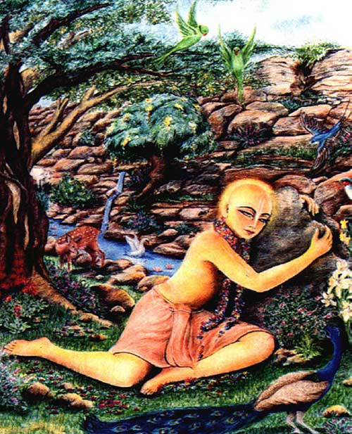 Sri Caitanya and Govardhan