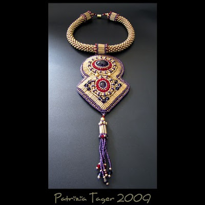 Free Beaded Necklace Pattern - Crafts patterns