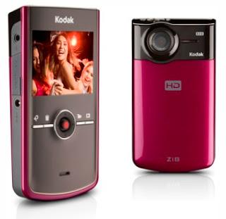 Kodak Pocket Camcorder 1080p Zi8 HD