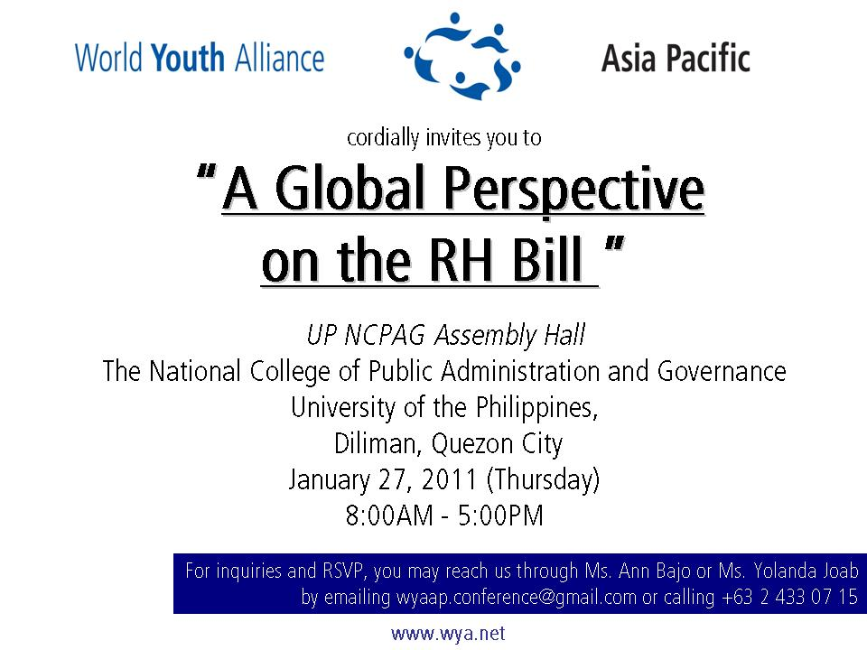 speech about rh bill This paper studies the different stakeholders involved in the reproductive health bill and the  speech on committee report  to pass rh bill reproductive health .
