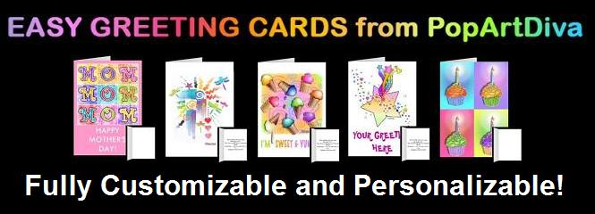 Easy Greeting Cards by PopArtDiva