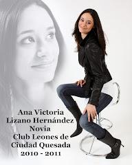 NOVIA ELECTA 2010-2011 CLUB DE LEONES DE CIUDAD QUESADA
