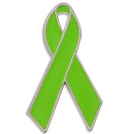The lime Green Ribbon represents those who were Adopted