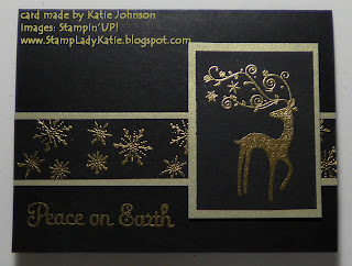 a Card made with the stamp set called Dasher