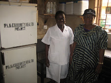 Mrs Oshodi and Mrs Awolola from Ipaja Community Health Foundation