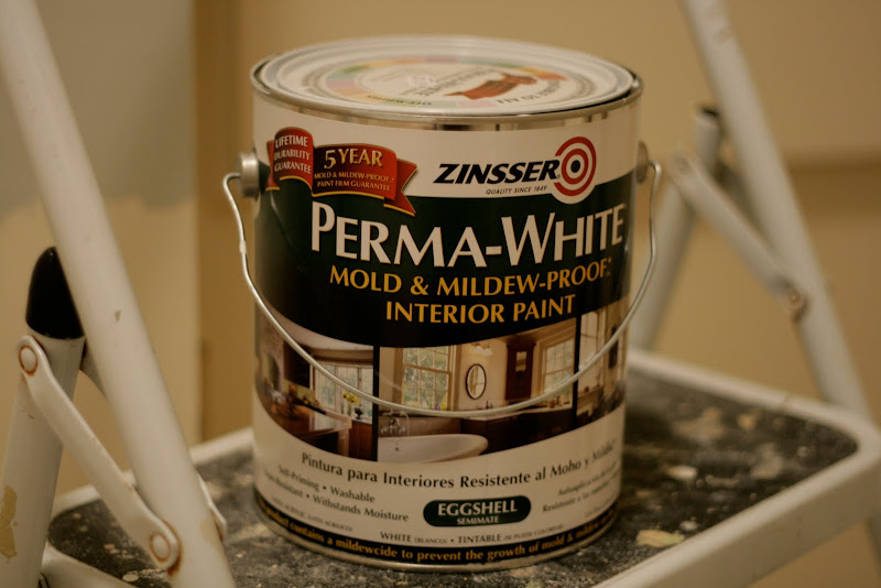 The Guy At The Paint Store Sold Me This Formulation Because I Was Doing A  Bathroom Ceiling. Itu0027s Supposed To Be Great At Resisting Mildew. I Hope So.
