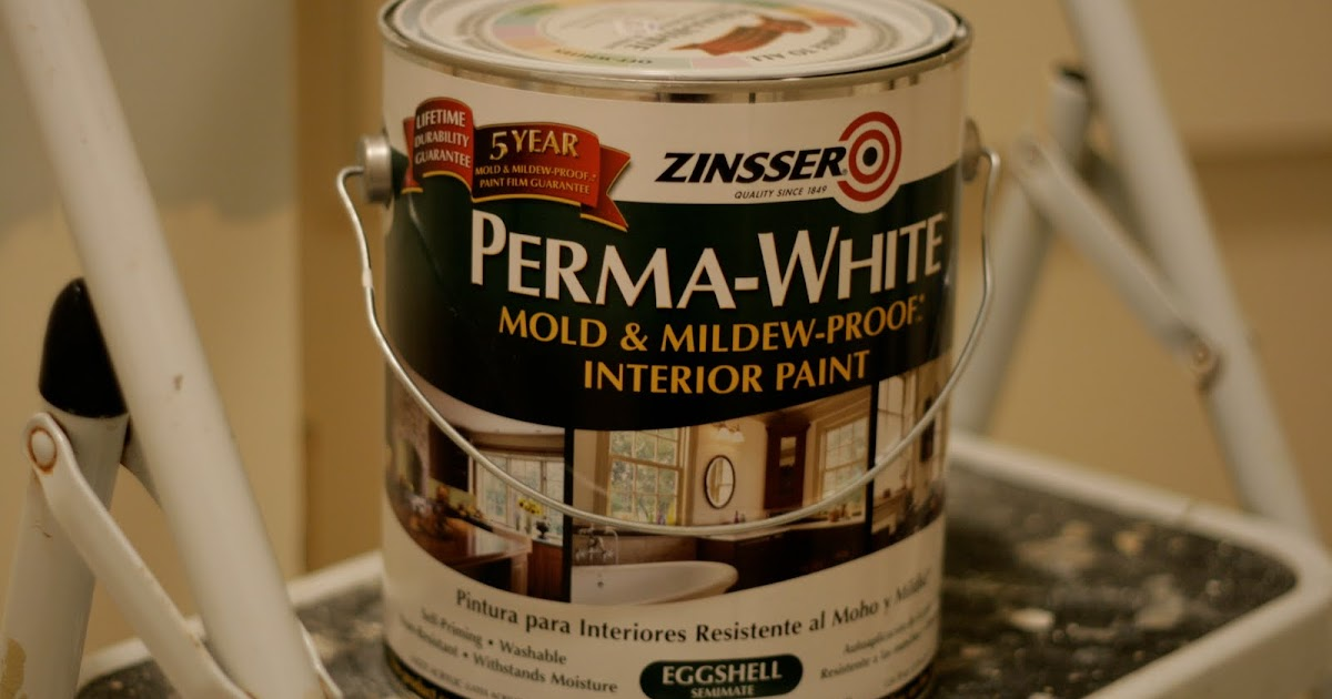 A Bluebonnet In Beantown Review Zinsser Perma White Mold Mildew Proof Interior Paint
