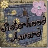 Sisterhood Award!!
