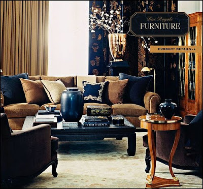 Have some decorum divine inspiration ralph lauren home for Ralph lauren decoration