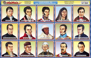 PRECURSORES SON AQUELLOS HOMBRES QUE LUCHARON POR LA INDEPENDENCIA ...