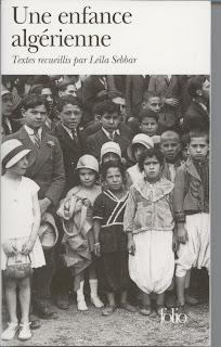 Couverture Une enfance algérienne - Leïla Sebbar