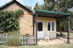 Back of cottage