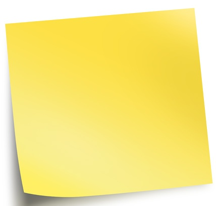 Go Back > Gallery For > Sticky Note Clip Art With No Background