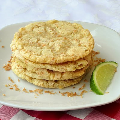 Wendy's Food Files: Coconut Lime Chewy Sugar Cookies