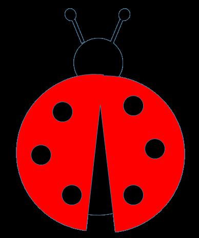 Impeccable image within printable ladybug