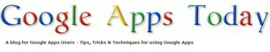 Google Apps Today