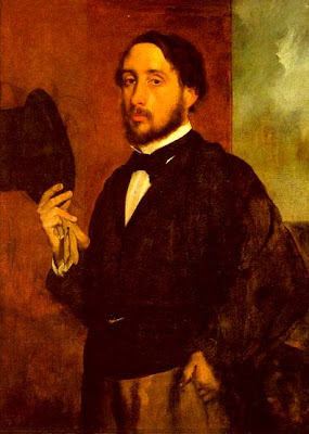 Degas Self Portrait