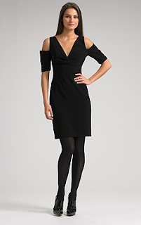Black Halo Dress on Black Halo Cutout Shoulder Jackie Dress  345
