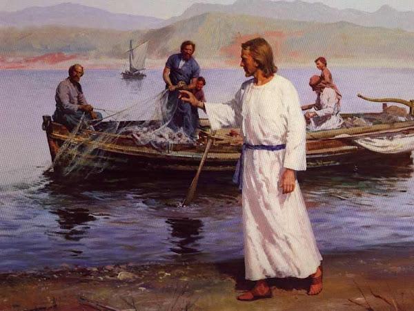 Jesus calls to Peter