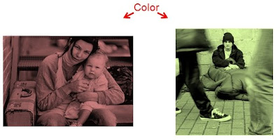 Example of testing color