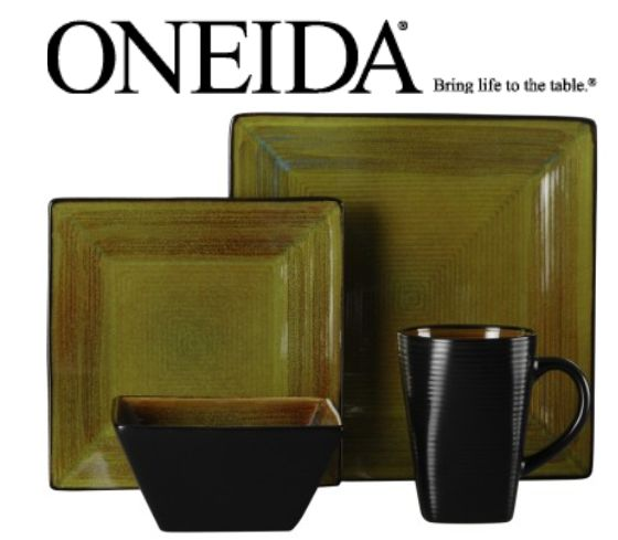 Oneida Adriatic Green Square Dinnerware  sc 1 st  Life is a Sandcastle - Blogspot & Life is a Sandcastle: Oneida Adriatic Green Square Dinnerware