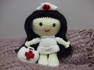 Amigurumi Nurse Pattern : Sayjai amigurumi crochet patterns ~ K and J Dolls / K and ...