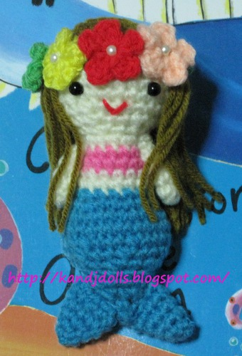 CROCHET DOLL MERMAID PATTERN - Crochet — Learn How to Crochet
