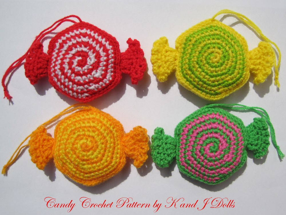 ... and J Dolls / K and J Publishing: Christmas ornaments crochet pattern