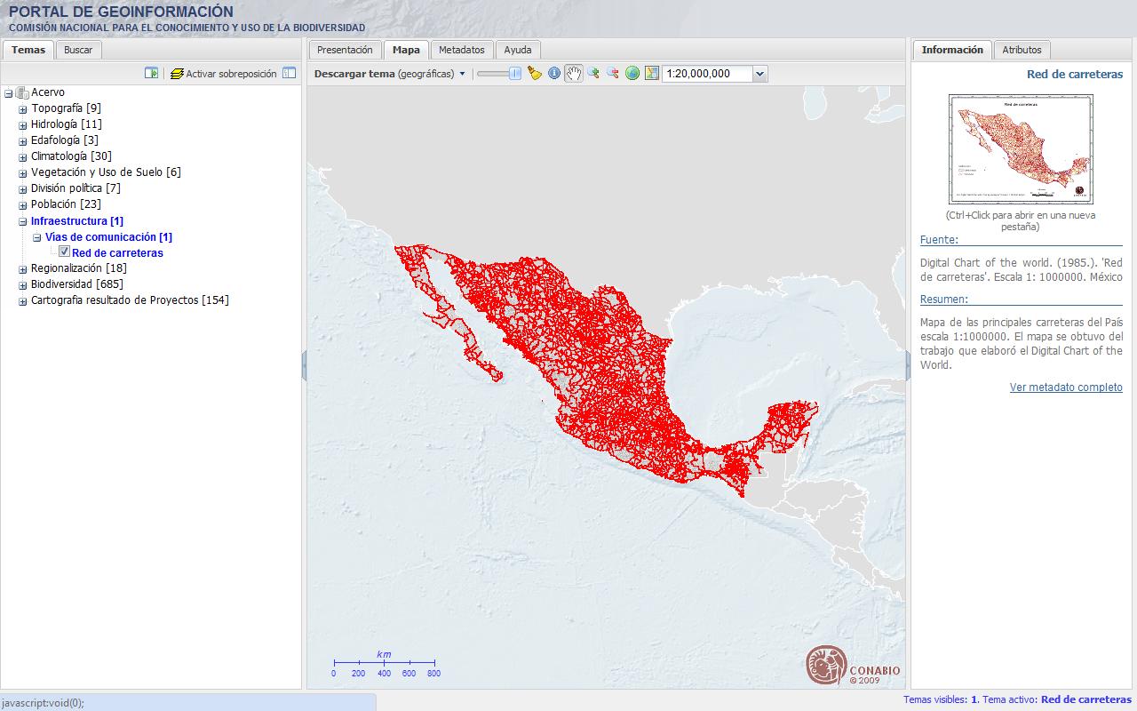 http www biodiversidad gob mx region geoinformacion html