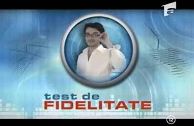 Test de Fidelitate - Antena1