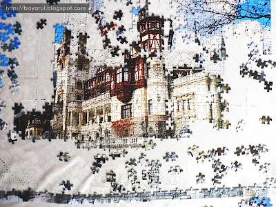 Puzzle Castelul Peles Romania 1000