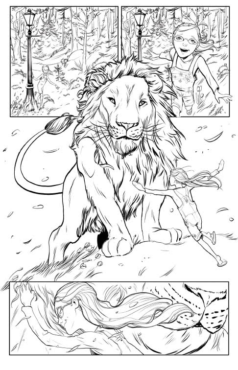 Narnia Free Coloring Pages