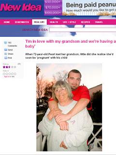 Avó que namora com neto... será o fim dos tempos????