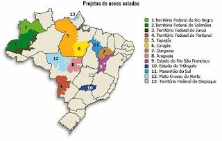 Mais Estados no Brasil!! Será que é disso que precismos para melhorar os serviços públicos?
