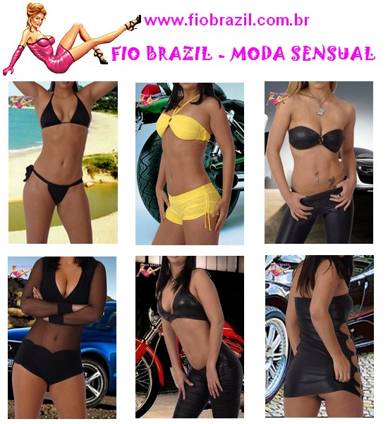 FIO BRAZIL - MODA SENSUAL