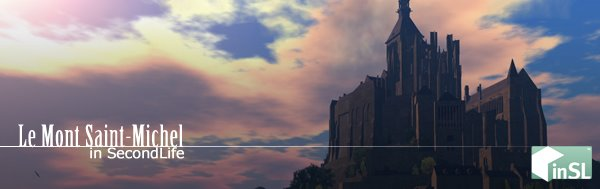 Le Mont Saint-Michel in SecondLife